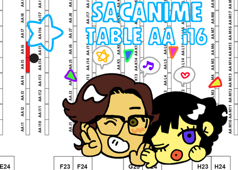 SacAnime AA Map