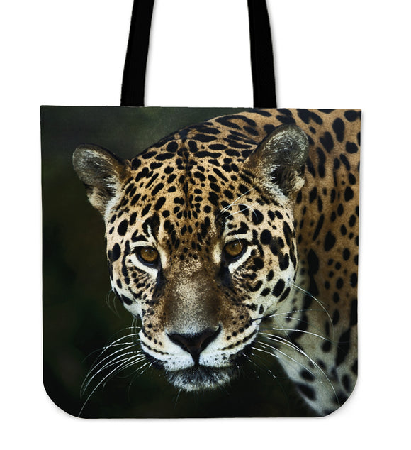 Jaguar Cloth Tote Bag