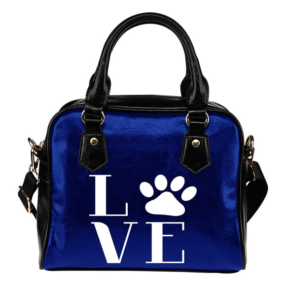 Love Cats Eco-Leather Shoulder Handbag