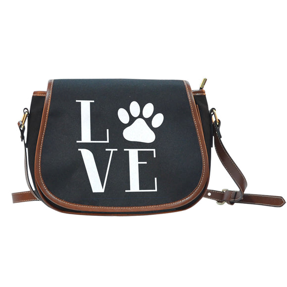 Love Cats Saddle Bag