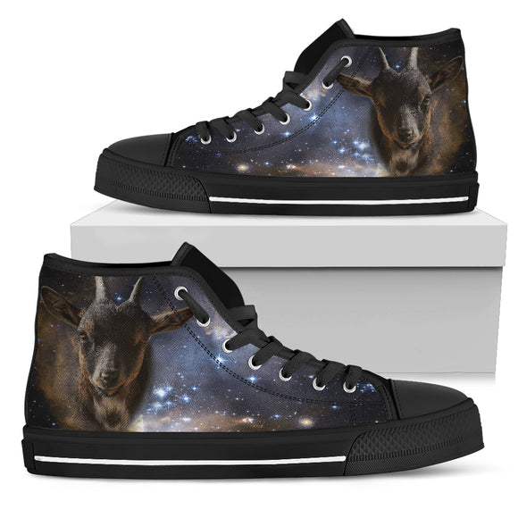 Galaxy Goat High Top shoes