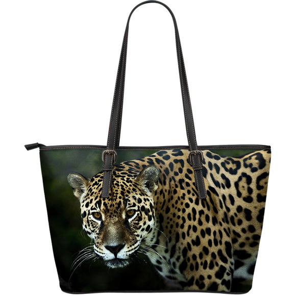 Jaguar Large Leather Tote
