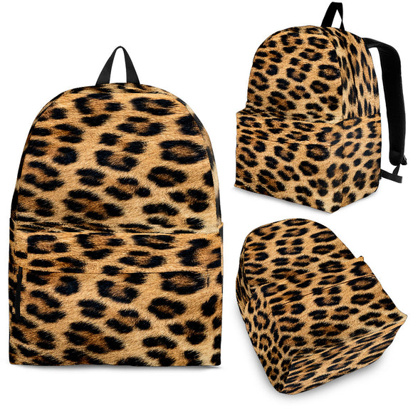Leopard Fur Print - Backpack