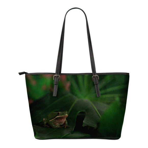 Treefrog - Leather Tote Bag