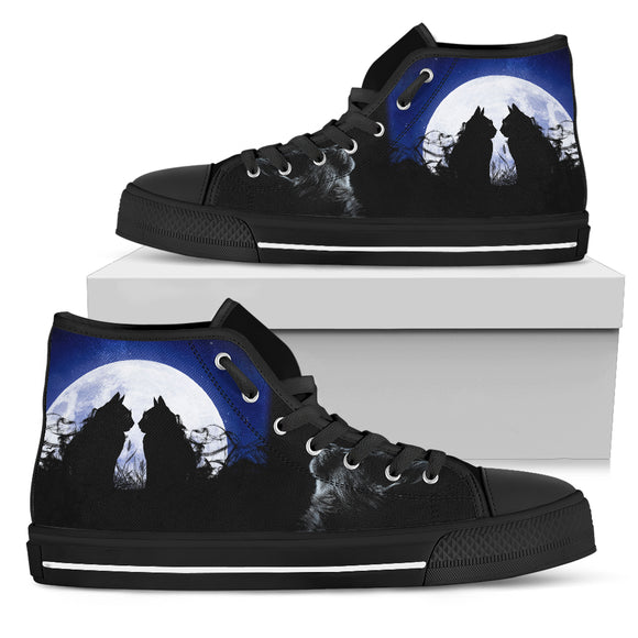 Two cats Women's High Top
