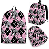 Elephant Argyle Backpack