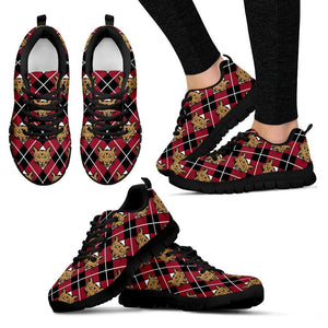 Cougar Argyle Mens and Womens Sneakers