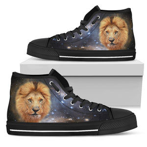 Galaxy Lion High Top Shoes