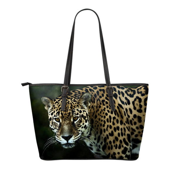 Jaguar Leather Tote Bag