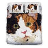 Calico Cat Bedding Set