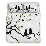 Cat Lovers Bedding Set