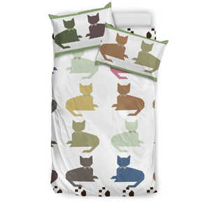 Cute Cat Bedding Set