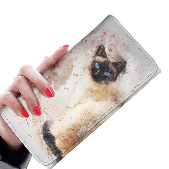 Siamese Cat Ladies Wallet