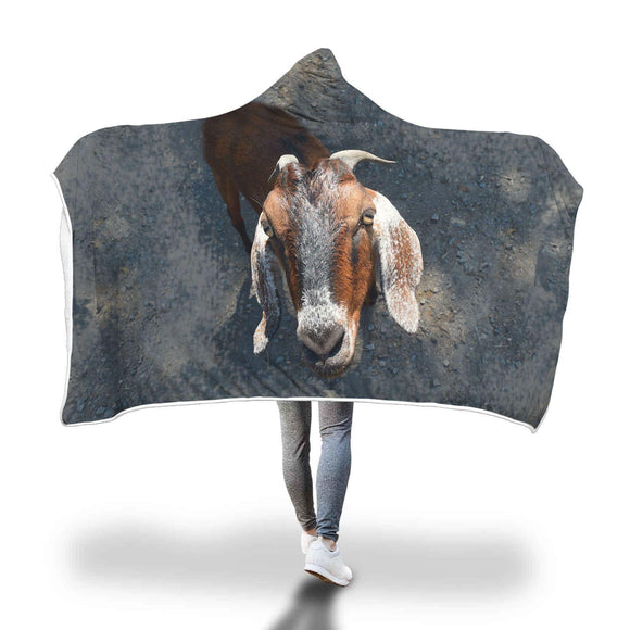 Goat - Hooded Blanket