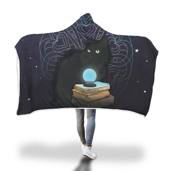 Midnight Magic Hooded Blanket