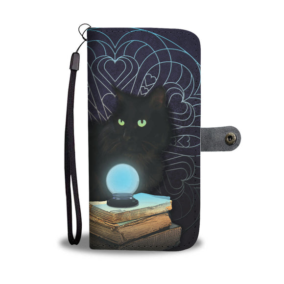 Midnight Magic Wallet Phone Case