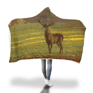 Stag Hooded Blanket