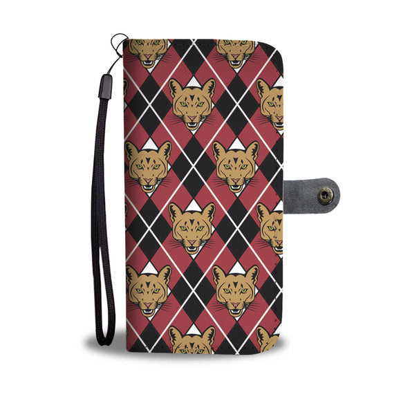 Cougar Argyle Wallet Phone Case