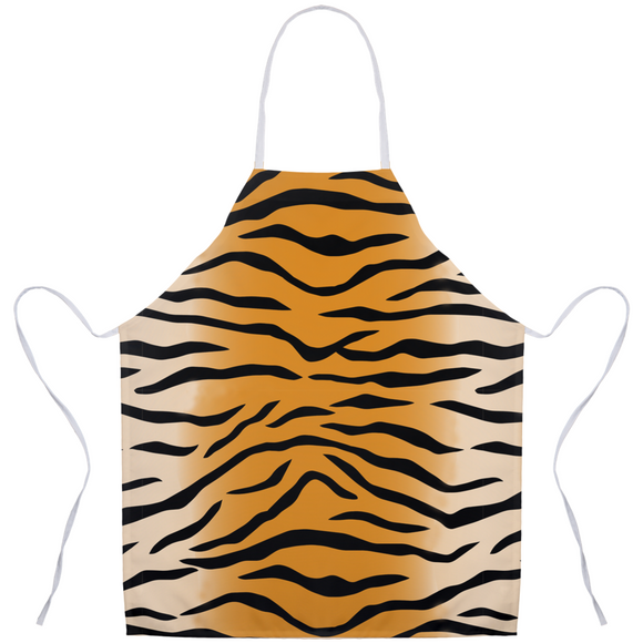 Tiger Stripe Apron