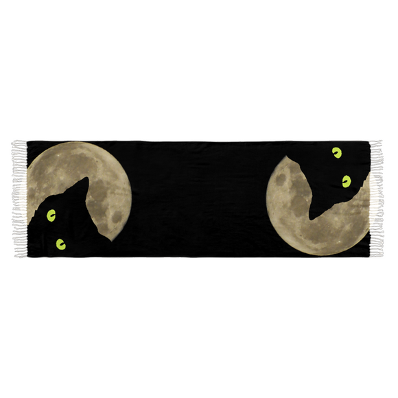 Moon Cat Scarf