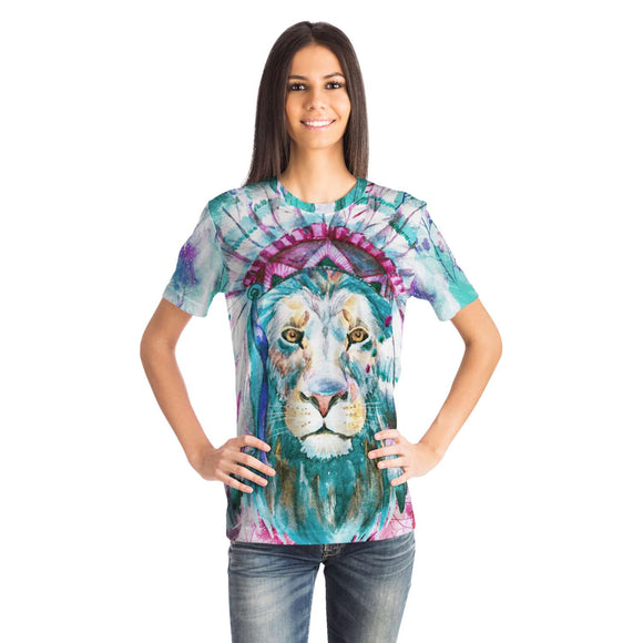 Lion Chief Tie Dye Unisex Tee