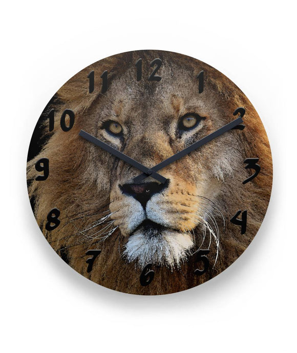 Lion Portrait Wall Clock 11