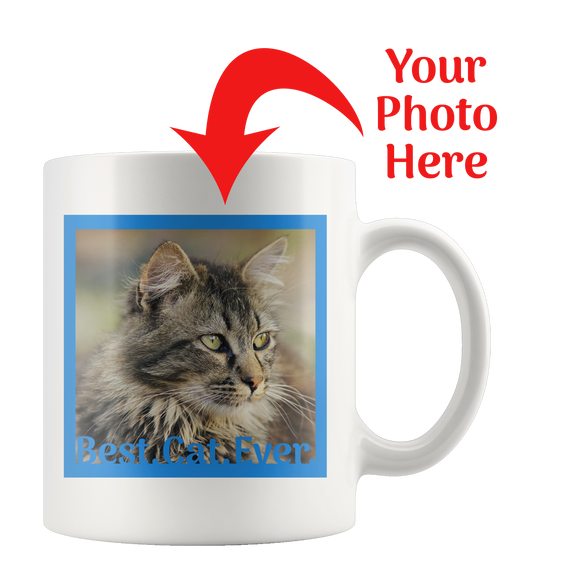 Best.Cat.Ever. Personalized Mug