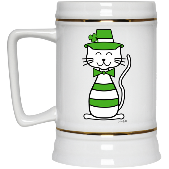 Leprecat Beer Stein 22oz.