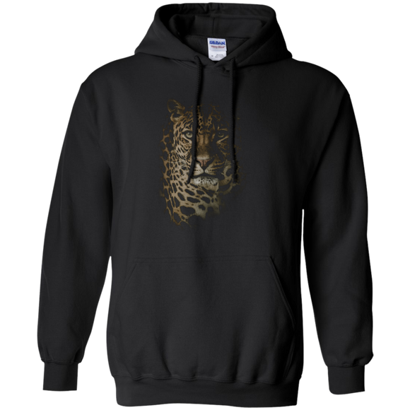 Leopard Portrait Pullover Hoodie