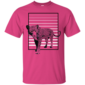 Black Panther Stripes Ultra Cotton T-Shirt