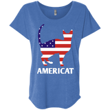 Americat Ladies Triblend Dolman Sleeve