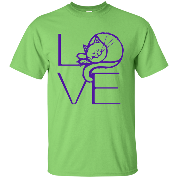 LOVE Cat Ultra Cotton T-Shirt