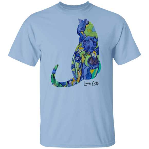Iris Cat Cotton T-Shirt