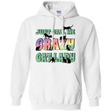 Just Call Me Crazy Cat Lady Pullover Hoodie