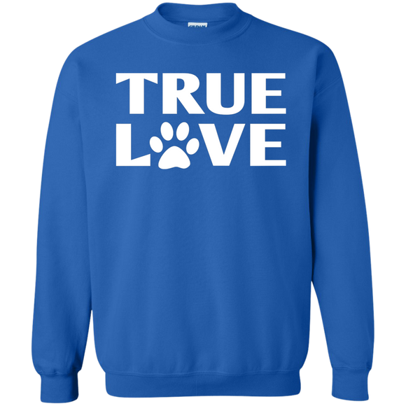 TRUE LOVE Crewneck Pullover Sweatshirt