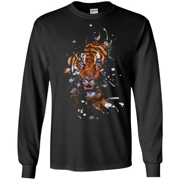 Disappearing Tiger LS Ultra Cotton T-Shirt