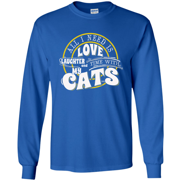 TIME with My Cats LS Ultra Cotton T-Shirt