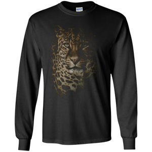 Leopard Portrait LS Ultra Cotton T-Shirt