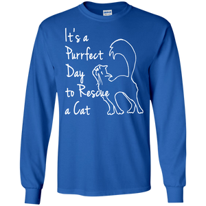 Purrfect Day LS Ultra Cotton T-Shirt