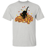 Cat in Leaves T-Shirt