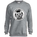 Feline Groovy Youth Crewneck Sweatshirt