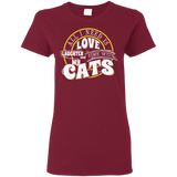 TIME with My Cats Ladies Cotton T-Shirt