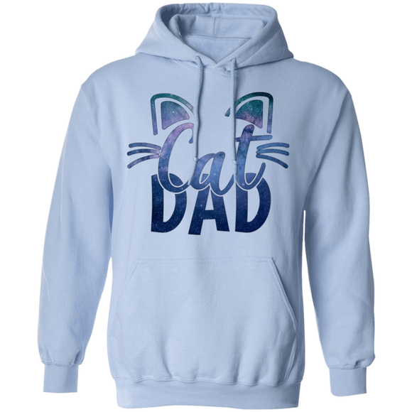 Cat Dad Pullover Hoodie