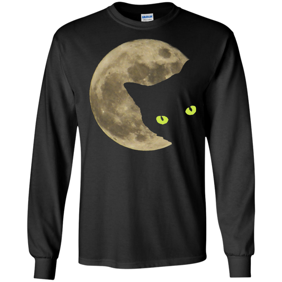 Moon Cat LS Ultra Cotton T-Shirt