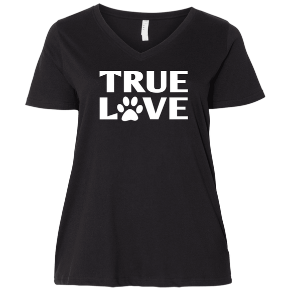 TRUE LOVE Ladies Curvy T-Shirts