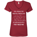 They Need Me Ladies T-Shirts