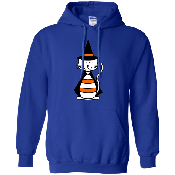 Witch Cat Pullover Hoodie