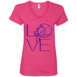 LOVE Cat Ladies V-Neck T-Shirt