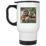 Tiger Square Stainless Steel Travel Mug
