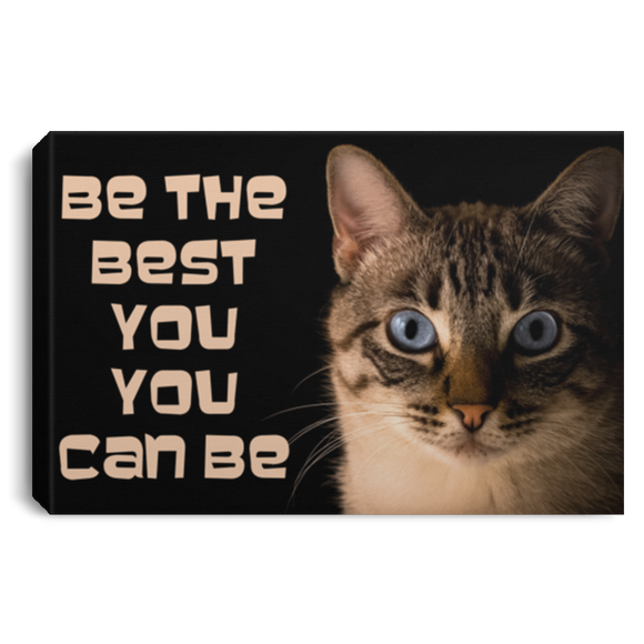 Lynx Point BE THE BEST YOU Canvas Wall Art